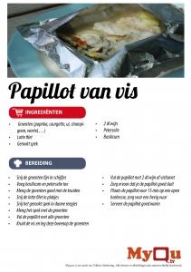 Papillot van vis