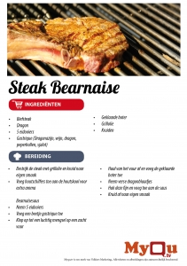 Steak bearnaise