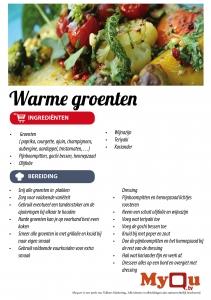 Warme groenten