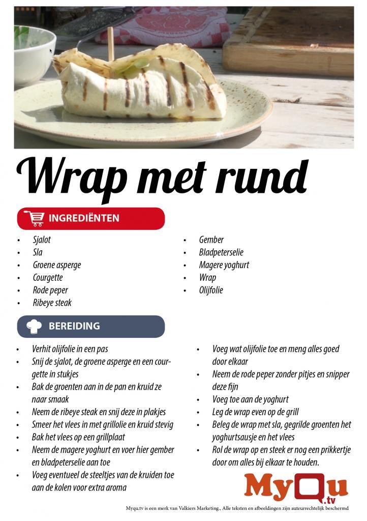 Wrap met rund