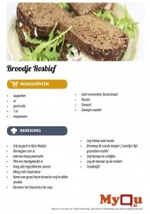 broodje rosbief