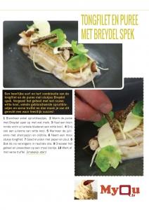 tongfilet met puree en breydel spek